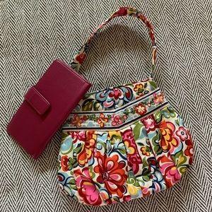 Vera bag and coordinating wallet